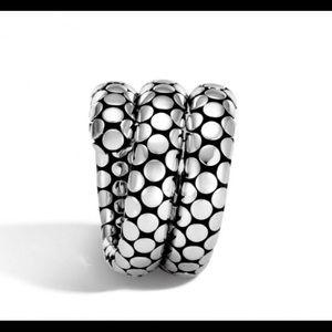 🎉HP🎉RARE John Hardy Double Coil Dot Ring